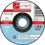 Uniqat Trennscheibe für Edelstahl / Stahl Trennsch.inox 115mm