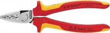 Knipex CRIMPZANGE für Aderendhülsen 9778180 F.aderendh. 180mm