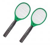 2x Globol Elektrische Fliegenklatsche + Batterien Insektenvernichter Mückentöter