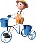 Brema JUNGE auf Fahrrad 124489 46x18x53 124489g