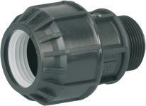 PVC-PE Verschraubungen 35512-E Verschraubung Ag 3/4 35512e