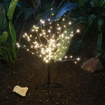 LED Lichterbaum 100cm Leuchtbaum Dekobaum Gartendeko Weihnachtsdeko warmweiß