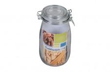 Drahtbügelglas 0, 95 Liter Eimachglas Einweckglas Vorratsglas Marmeladenglas