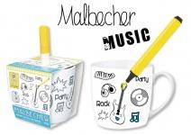 """BON BOX by Michael Fischer BECHER DIY ,, Music"""" 59835 Music Mit Stift"""