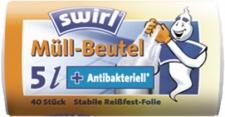 swirl MEL Müllbeutel 173167 Muellbeutel 5l Antibak.