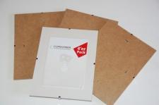 Cliprahmen Bilderrahmen 4er Pack 10, 5x15cm