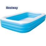 Bestway Family Pool blau Swimmingpool Kinderpool Schwimmbecken Planschbecken