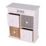 Home Style Kabinettschrank mit 4 Schubladen 23, 5x27x11cm Mini Stauraum Blickfang