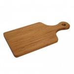 Bambusholz Küchenbrett Schneidebrett 39x20cm Holzbrett Tranchierbrett Hackblock