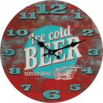"WANDUHR ,, Ice Cold Beer"" Ice Beer79/3085"