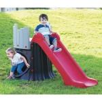 Kinder Baumhaus mit Rutsche Kinderrutsche Gartenrutsche Baumstumpf Spielturm