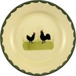 zeller keramik TELLER Dessertteller 0010/1-1401 Fla 21cm Ha+henne