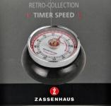 """Zassenhaus ZH Kurzzeitmesser ,, Speed"""" 072310 Timer Speed Schwarz"""