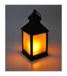 LED Deko-Laterne Flackereffekt Windlicht Tischdeko Leuchte Lampe Weihnachtsdeko