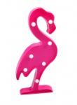 LED Flamingo 30cm pink Partydeko Wanddeko Dekofigur Vogel Dekolicht warmweiß