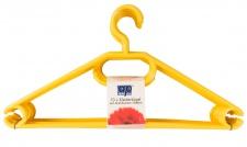 Kleiderbügel 10er gelb
