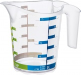 """rotho ROT Messbecher ,, Domino"""" 1750510379 0, 5l Domino1750510379"""