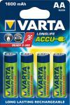 """Varta Akkubatterien ,, ready 2 use"""" 56716-101-404 Accu-batt.mignon"""