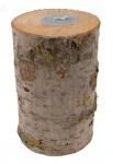 Holz-Nordlicht Schwedenfeuer Outdoor-Kerze Partylicht Gartendeko Baumstammfackel