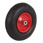 Schubkarrenrad 33cm Reifen Ersatzrad Luftreifen Gartenkarre Schubkarre Baukarre