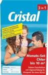Cristal MONATSSET Monats-Set Chlor bis 10 m³ 1199810 Minipool
