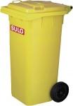 SULO Müllgroßbehälter 1074748 MÜllgroßbeh.fahrbar 120ltr Gelb