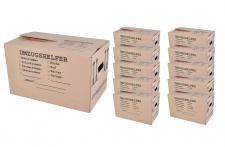 Umzugskarton 10 Stück bedruckt 59x34x35cm Traglast bis 30kg Aufbewahrung Kiste