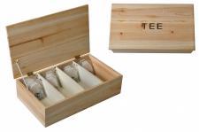 Tee Holzbox