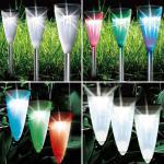 LED Solarleuchte 2in1 3er Set