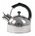 Edelstahl Flötenkessel 2L Wasserkessel Pfeifenkessel Teekessel Wasserkocher