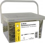 SPANPL-SCHR.TX20 Spanplattenschrauben-Aktionspack Box 4, 0x40 400st