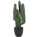 Künstlicher Säulenkaktus 70cm im Blumentopf Kunstpflanze Kaktus Kakteen Deko