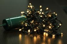 Brema LICHTERKETTE LED-Lichterkette 831190 Led 50fl Ww Out