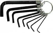 Uniqat STIFTSCHL-SATZ Sechskant Stiftschlüsselsatz 6-kt 1, 5-6 8-t