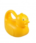 Süße Gießkanne Ente gelb Blumenkanne Wasserkanne Kindergießkanne Gartenspielzeug