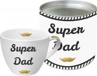 """ppd Café au Lait Tasse ,, Super Dad"""" 603066 Cafe Super Dad"""