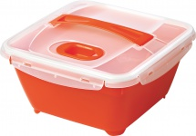"rotho ROT Mikrowellen-Foodbutler ,, Micro Complete"" 1737204036 Foodbutler 1, 7l"