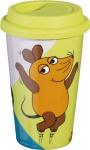 """Esmeyer ESM Coffee-to-go Becher ,, Sendung mit der Maus"""" 302-089 Ctg Maus"""