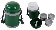 Thermobehälter 1, 7L Speisenwärmer Lunchbox Edelstahl Essen Box Outdoor Camping