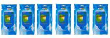 6x 40 feuchte Allzwecktücher 18x20cm wiederverschließbare Hygienetücher Packung