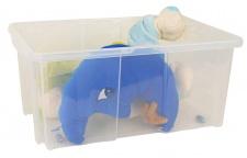 Aufbewahrungsbox Stapelbox Rollbox Spielzeugkiste Rollenbox Kiste 60x26, 5x29cm