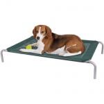 Haustierliege 90 x 60 cm bis 70 kg Bett Sofa Schlafplatz Korb Kissen Hund Katze