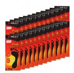 "24 Paar Fußsohlenwärmer "" Heat Feet"" Wärmesohlen Schuhwärmer Sohle Fußwärmer"