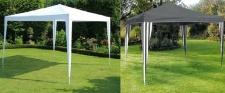 Polyester Gartenpavillon 3x3x2, 45m Bierzelt Partyzelt Festzelt Gartenzelt Faltpavillon NEU