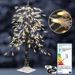 Lichterbaum Zeder mit 180 LED Garten Winter Beleuchtung Lichterdeko Äste biegsam