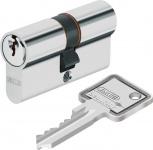 """ABUS Profilzylinder mit NOT- UND GEFAHRENFUNKTION ,, C 73"""" 4983 Profilzyl.c 73n 30/40 3 Schl.kt"""