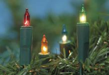 MINILICHTERKETTE Mini-Lichterkette 10 Tlg Bunt 132704c