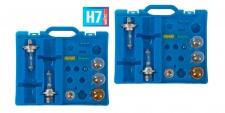 2x Auto-Ersatzlampen-Koffer H7 Scheinwerfer Bremslicht Blinklicht Rücklicht