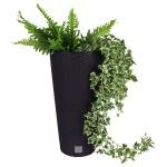 Polyrattan Pflanztopf 57, 5x30cm Blumentopf Pflanzkübel Übertopf Blumenkübel