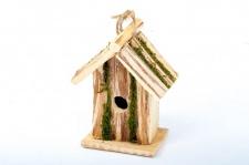 Vogel-Nisthöhle aus Holz 16x10x21cm